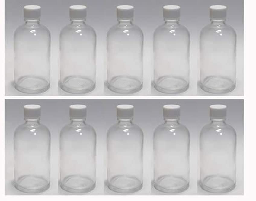 謝罪恐ろしいですレンチ100ml ガラスボトル(空容器) 10本