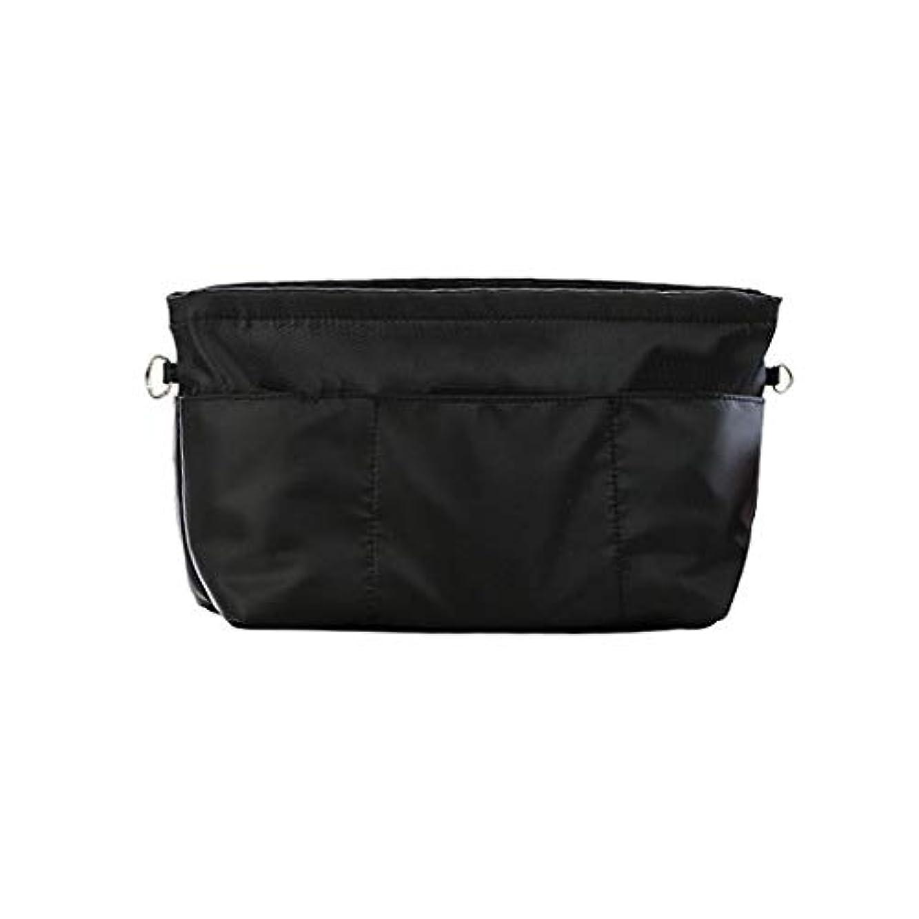包帯クラシック理解Surui バッグインバッグ インナーバッグ 収納ホルダー バッグ イン バッグ レディース 収納ポーチ 多機能 ホルダー 化粧ポーチ ハンドバッグ 女性 おしゃれ 収納 化粧品バッグ 化粧ホルダー 大容量 XS