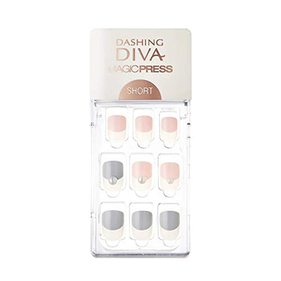 エトナ山豚アナロジーダッシングディバ マジックプレス DASHING DIVA MagicPress MDR247SS-DURY+ オリジナルジェル ネイルチップ Baby Latte