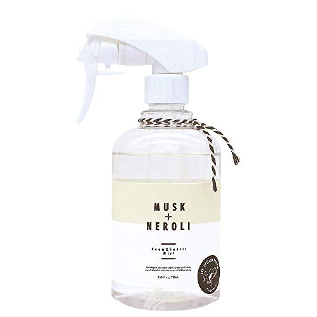 ノルコーポレーション ルーム&ファブリックミスト more room 消臭成分配合 ホワイトムスク & ネロリの香り 280ml MRM-3-3