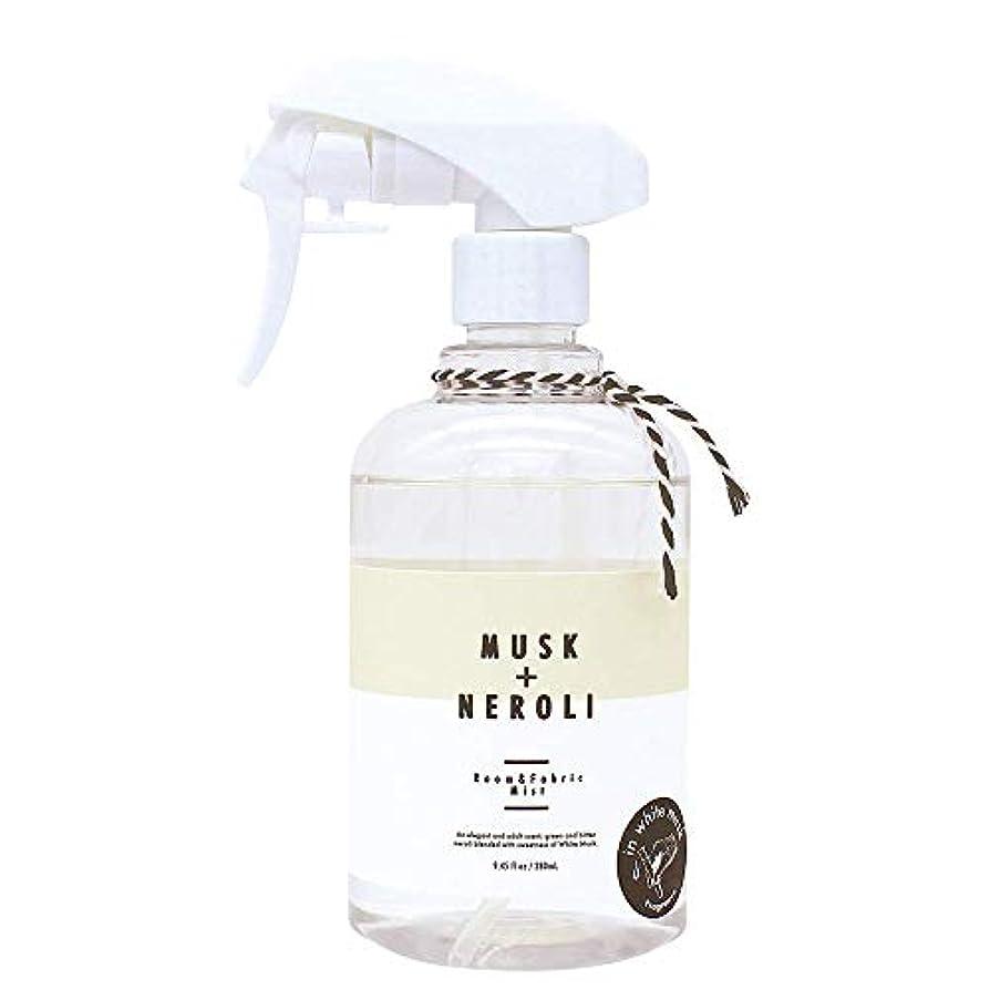 適応的トランスペアレントデコラティブノルコーポレーション ルーム&ファブリックミスト more room 消臭成分配合 ホワイトムスク & ネロリの香り 280ml MRM-3-3