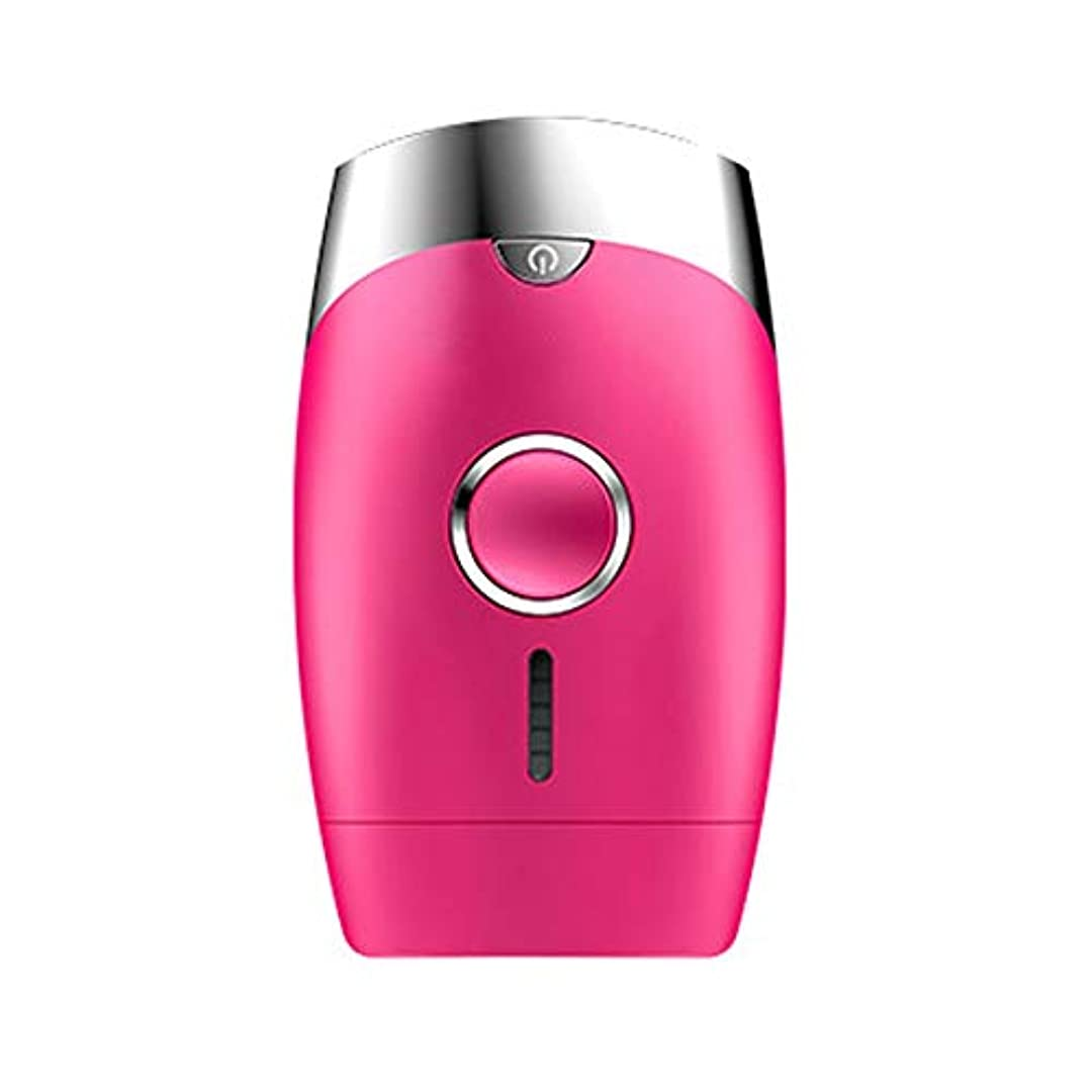 大工強制的人間Xihouxian ピンク、5スピード調整、インテリジェント家庭用痛みのない凝固点ヘアリムーバー、シングルフラッシュ/連続フラッシュ、サイズ13.9 X 8.3 X 4.8 Cm D40 (Color : Pink)