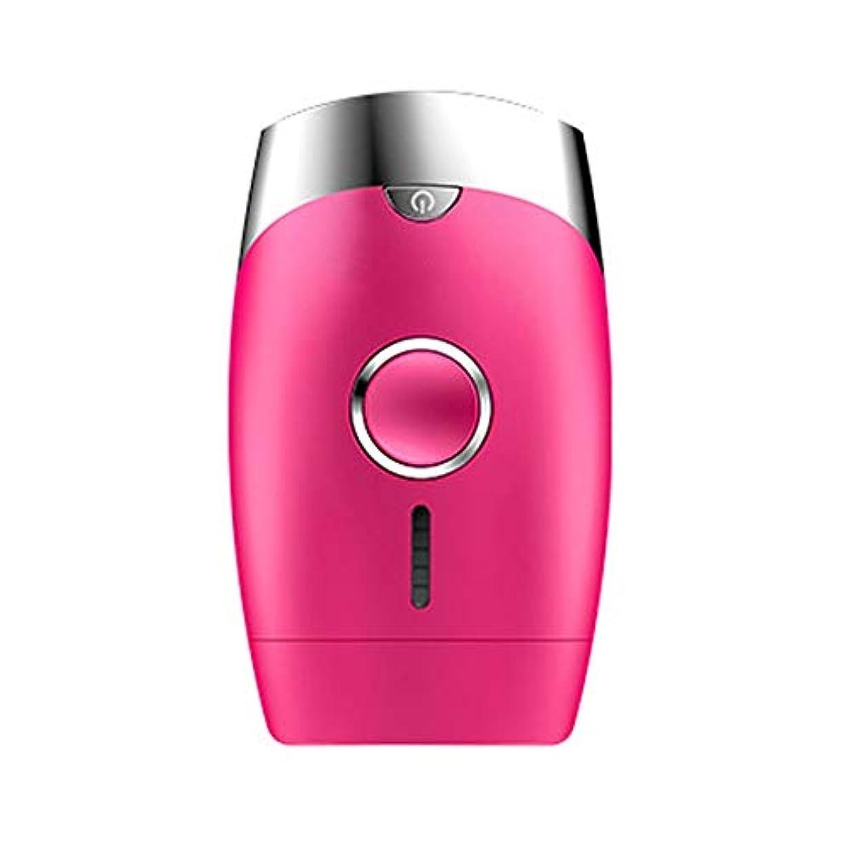 無傷コマンド前兆ピンク、5スピード調整、インテリジェント家庭用痛みのない凝固点ヘアリムーバー、シングルフラッシュ/連続フラッシュ、サイズ13.9 X 8.3 X 4.8 Cm 髪以外はきれい (Color : Pink)