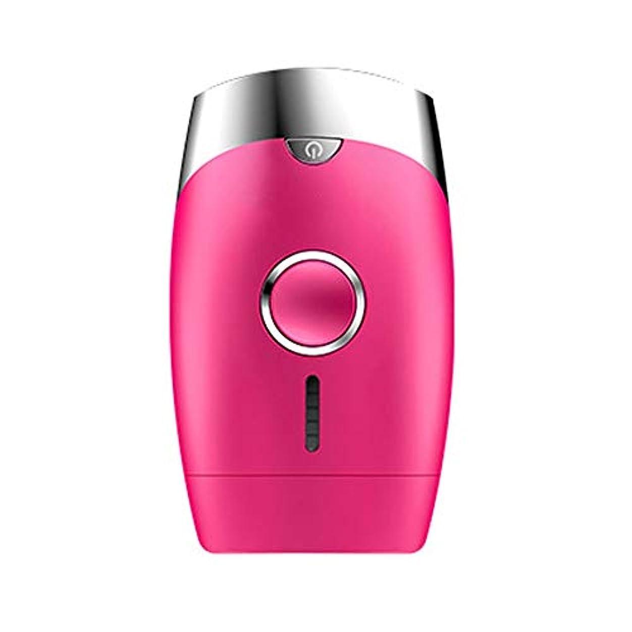 メロディアス収縮安定Nuanxin ピンク、5スピード調整、インテリジェント家庭用痛みのない凝固点ヘアリムーバー、シングルフラッシュ/連続フラッシュ、サイズ13.9 X 8.3 X 4.8 Cm F30 (Color : Pink)