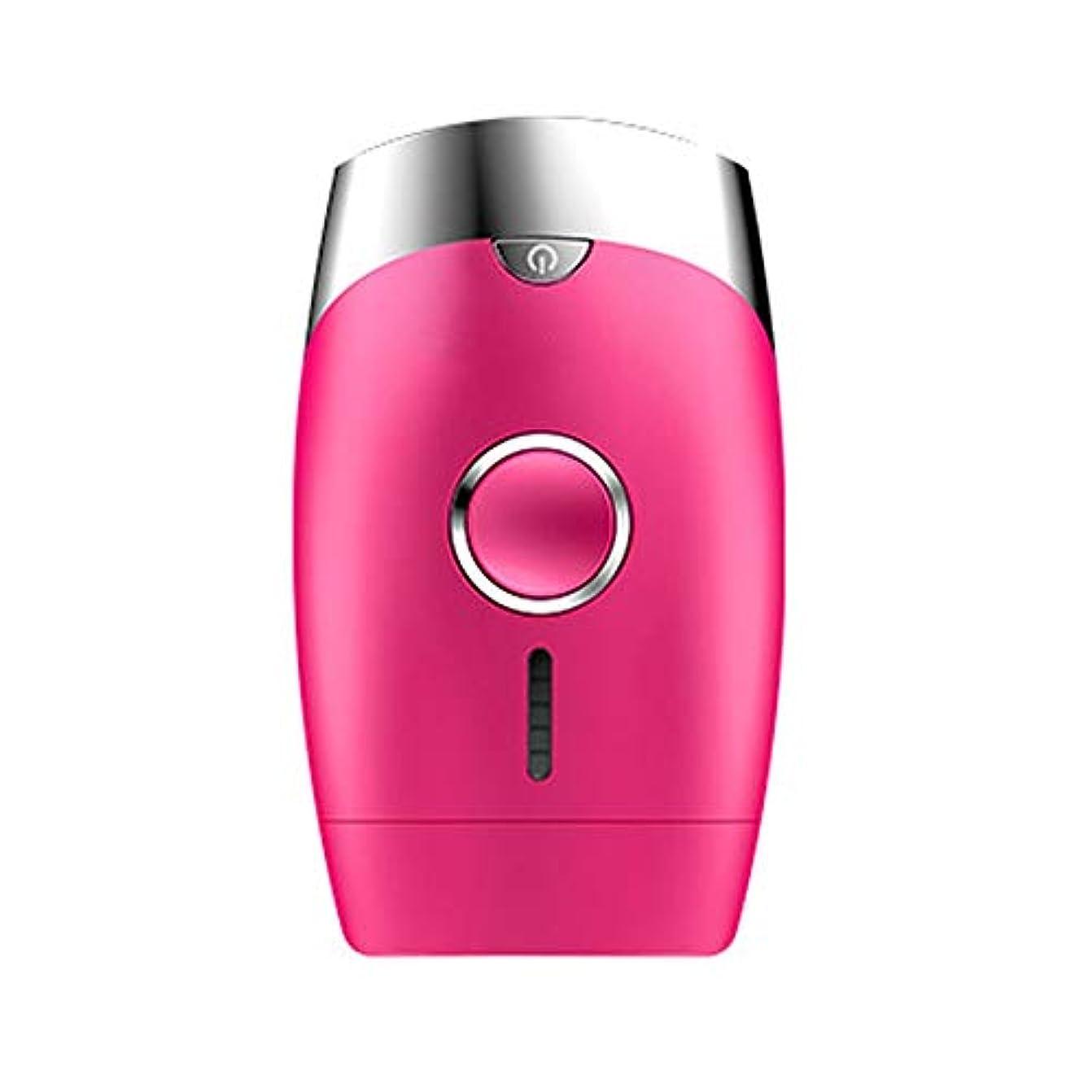 ストレス赤面良いピンク、5スピード調整、インテリジェント家庭用痛みのない凝固点ヘアリムーバー、シングルフラッシュ/連続フラッシュ、サイズ13.9 X 8.3 X 4.8 Cm 髪以外はきれい (Color : Pink)