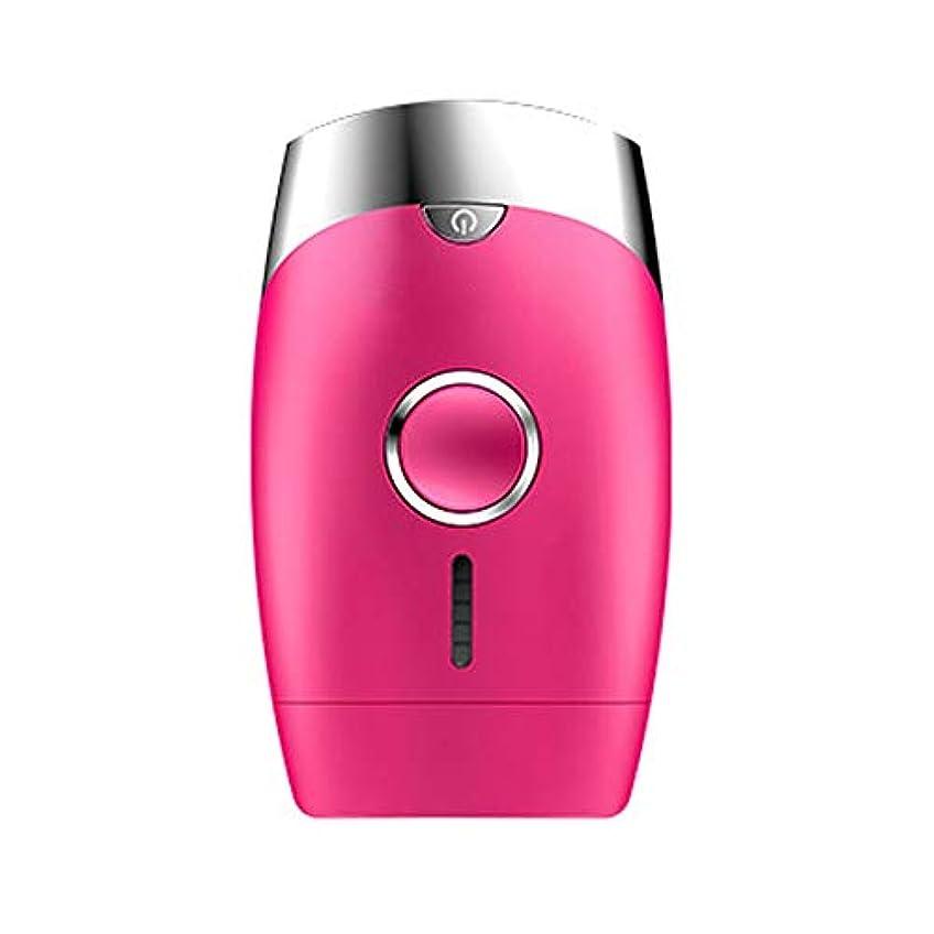 ドラム外出エキスパートダパイ ピンク、5スピード調整、インテリジェント家庭用痛みのない凝固点ヘアリムーバー、シングルフラッシュ/連続フラッシュ、サイズ13.9 X 8.3 X 4.8 Cm U546 (Color : Pink)