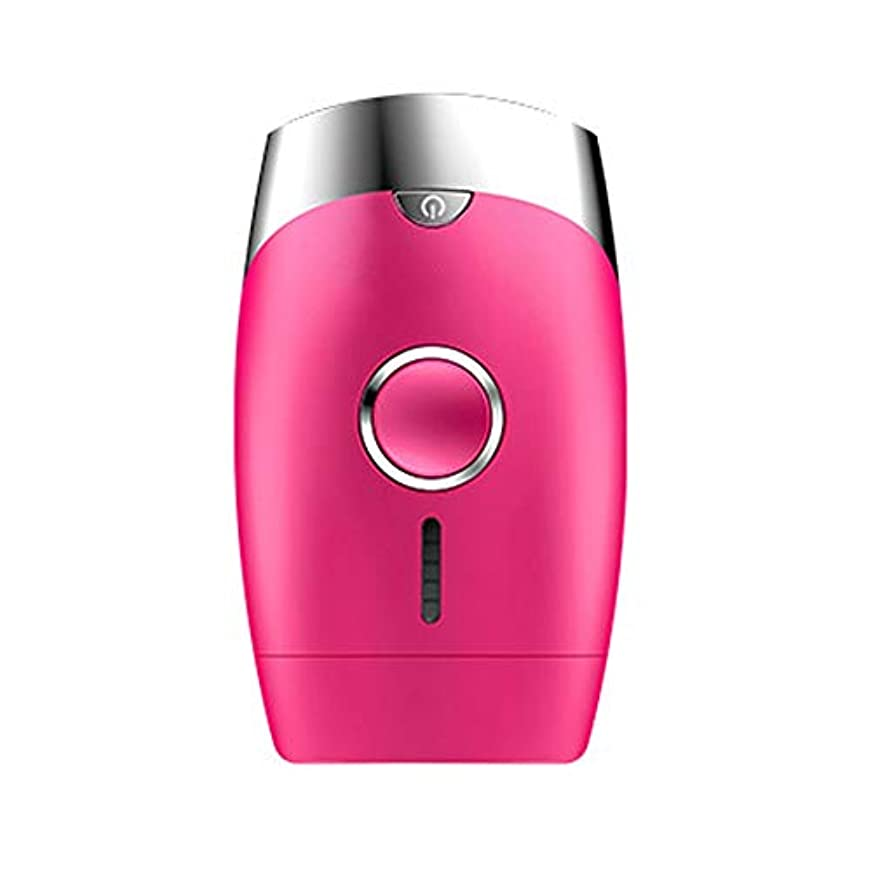 宣言する差し控える進行中ピンク、5スピード調整、インテリジェント家庭用痛みのない凝固点ヘアリムーバー、シングルフラッシュ/連続フラッシュ、サイズ13.9 X 8.3 X 4.8 Cm 髪以外はきれい (Color : Pink)