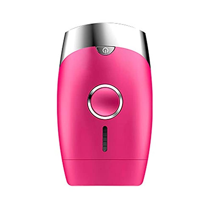 男イベントミリメーターピンク、5スピード調整、インテリジェント家庭用痛みのない凝固点ヘアリムーバー、シングルフラッシュ/連続フラッシュ、サイズ13.9 X 8.3 X 4.8 Cm 安全性 (Color : Pink)