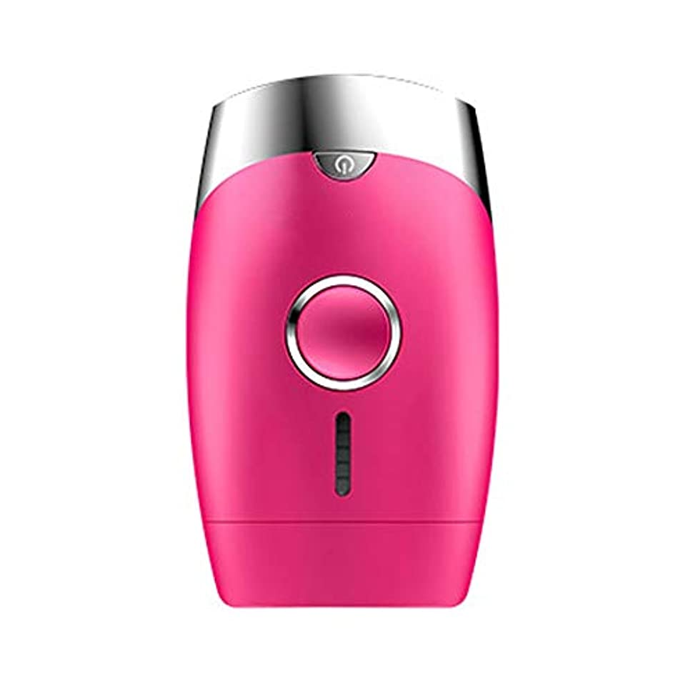 高男 ピンク、5スピード調整、インテリジェント家庭用無痛快適凍結ポイント脱毛剤、シングルフラッシュ/連続フラッシュ、サイズ13.9x8.3x4.8cm (Color : Pink)