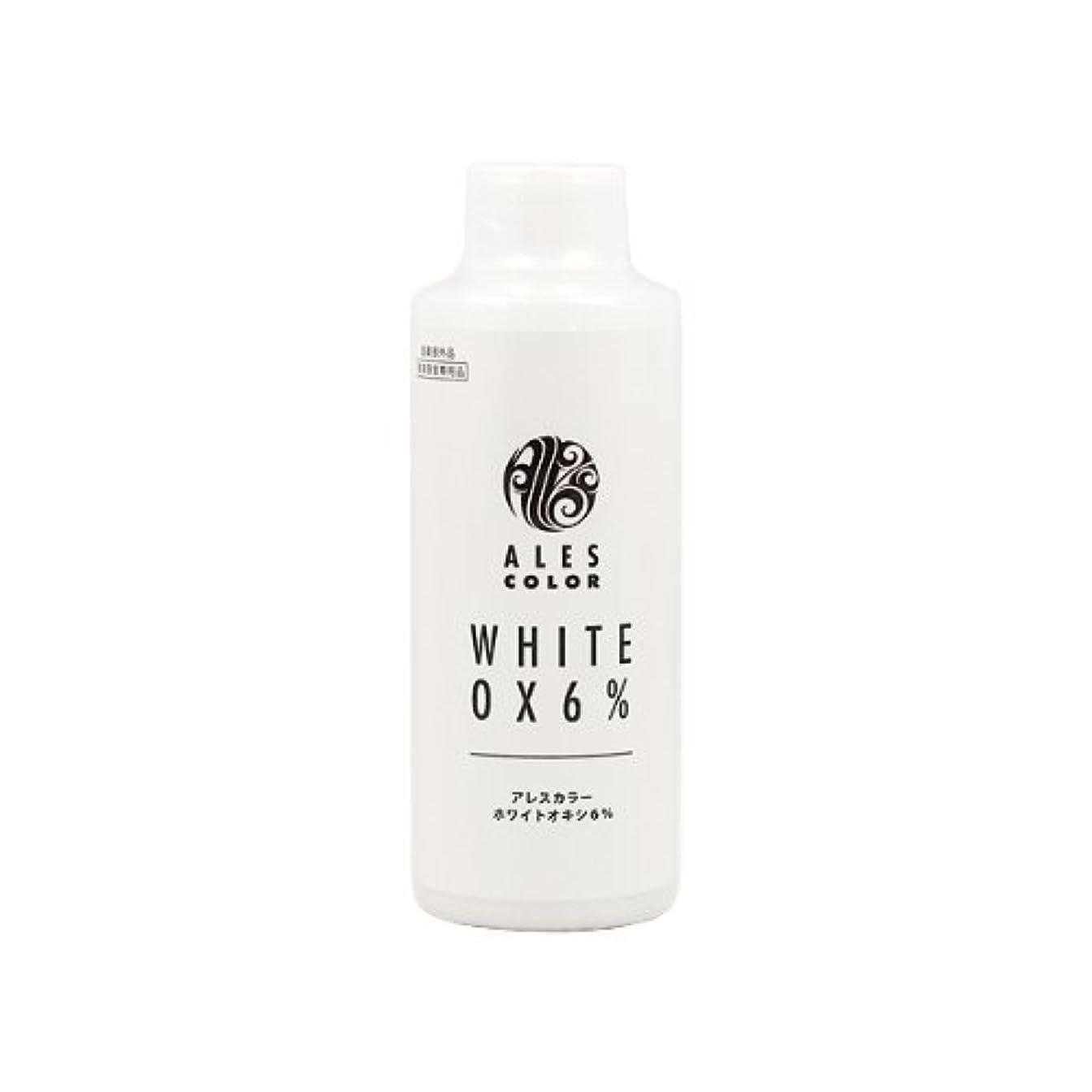 エッセイステレオマンハッタンアレスインターナショナル アレスカラー ホワイトオキシ6% 120ml