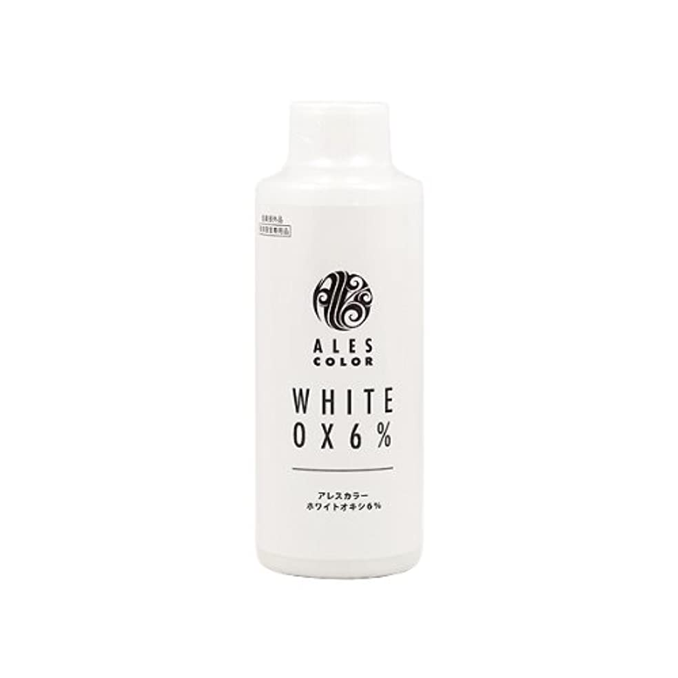 先生作業銛アレスインターナショナル アレスカラー ホワイトオキシ6% 120ml