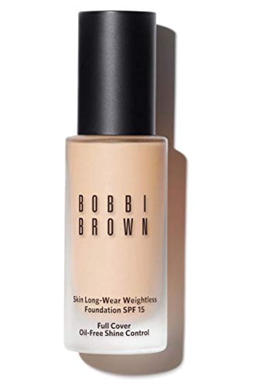 彫る誤快いボビイ ブラウン Skin Long Wear Weightless Foundation SPF 15 - # Porcelain 30ml/1oz並行輸入品