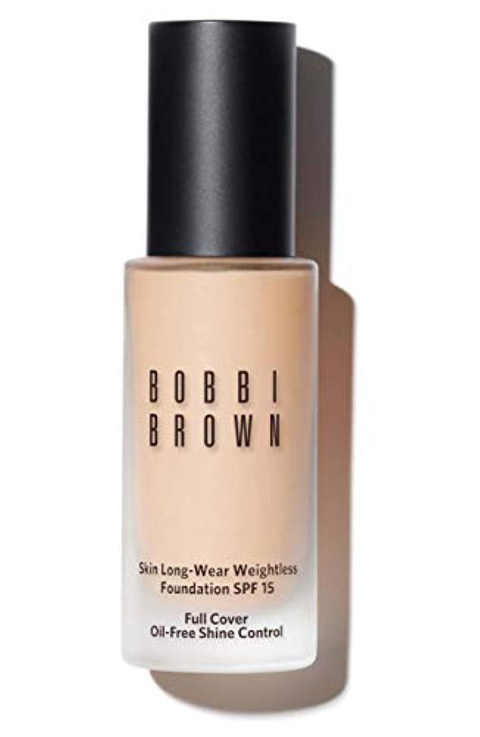 印象的高度な運賃ボビイ ブラウン Skin Long Wear Weightless Foundation SPF 15 - # Porcelain 30ml/1oz並行輸入品