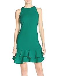 (チェルシー28) CHELSEA28 women`s Tiered Ruffle Hem Dress [3COLOUR] ティアードフリル裾のドレス [3色] (並行輸入品)