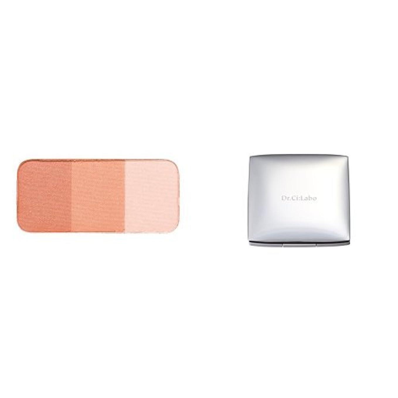 石化する八ソーシャル【セット買い】ドクターシーラボ チークカラー オレンジ 3色セット&ケース