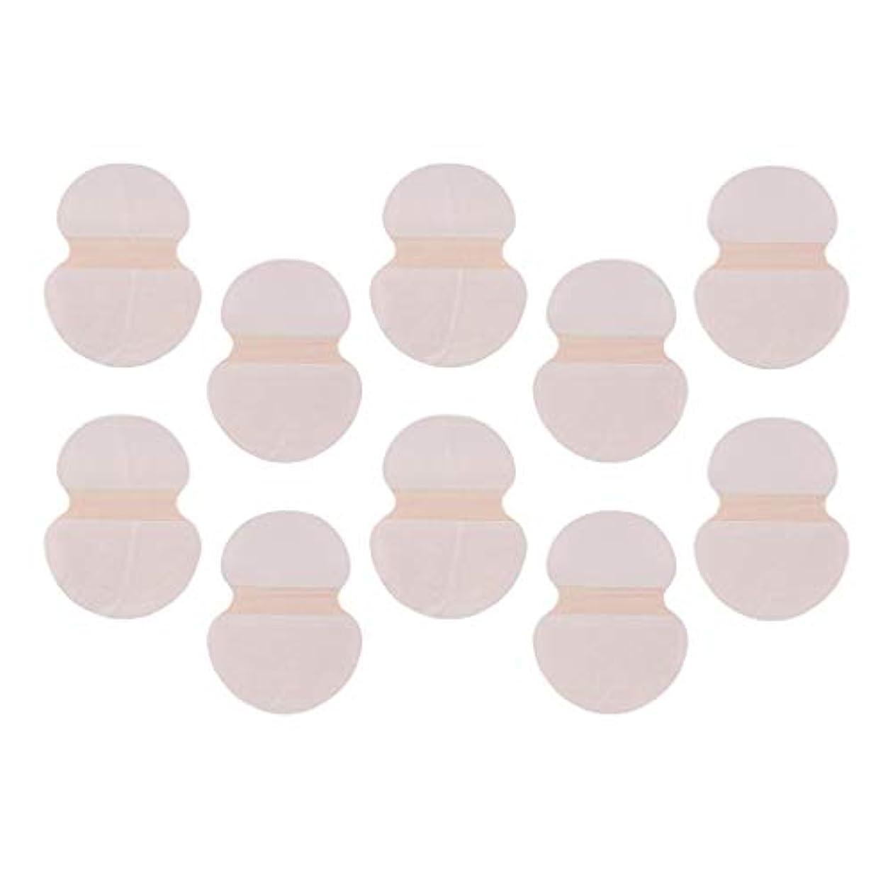 知る無塩辛いPerfeclan 20ピース 脇の下汗パッド 汗止めパッド 不織布 脇の汗染み防止 男性/女性対応