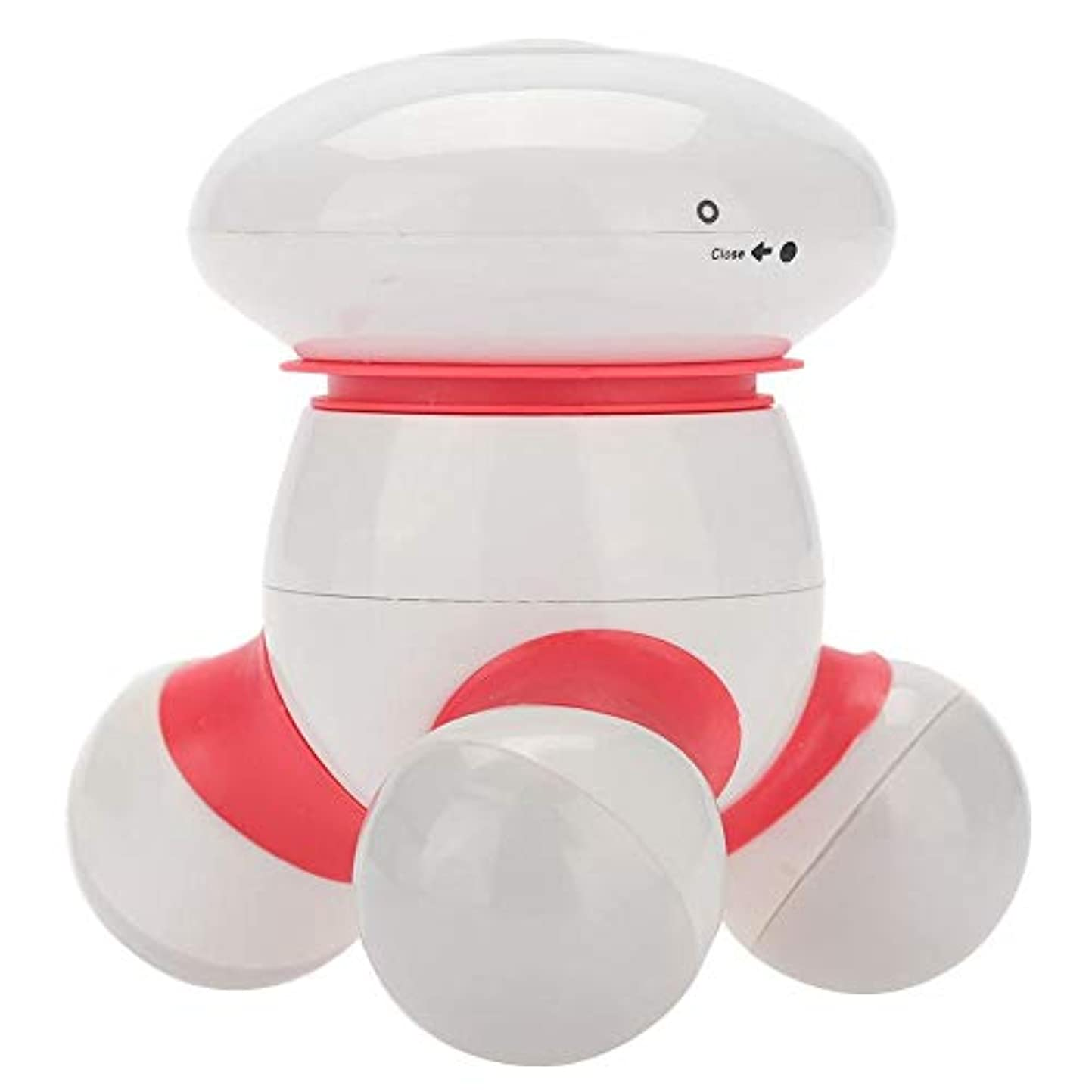 ローブ冒険靄専門のウエストの首のマッサージャー、手持ち型のマッサージャーの全身のウエストの首のAcupointの振動マッサージャー(赤)