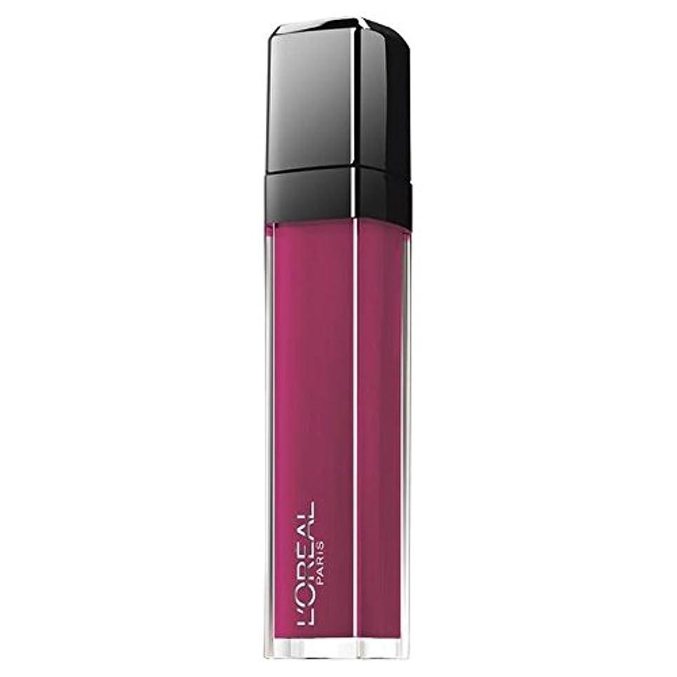 ブロック初期クモL'Oréal Paris Indefecble Gloss Smoke Me Up 407 (6 Stück)