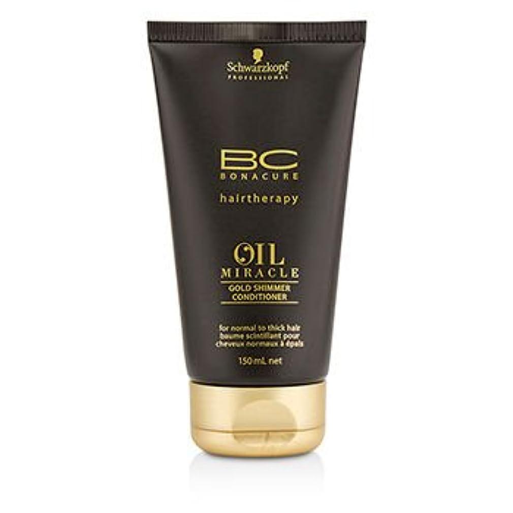 蓋くつろぐ日焼け[Schwarzkopf] BC Oil Miracle Gold Shimmer Conditioner (For Normal to Thick Hair) 150ml/5oz