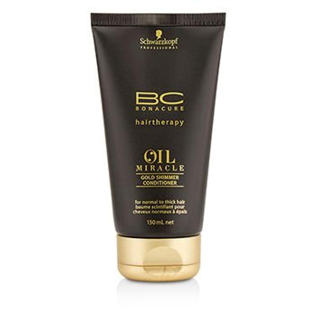曇った段階半導体[Schwarzkopf] BC Oil Miracle Gold Shimmer Conditioner (For Normal to Thick Hair) 150ml/5oz