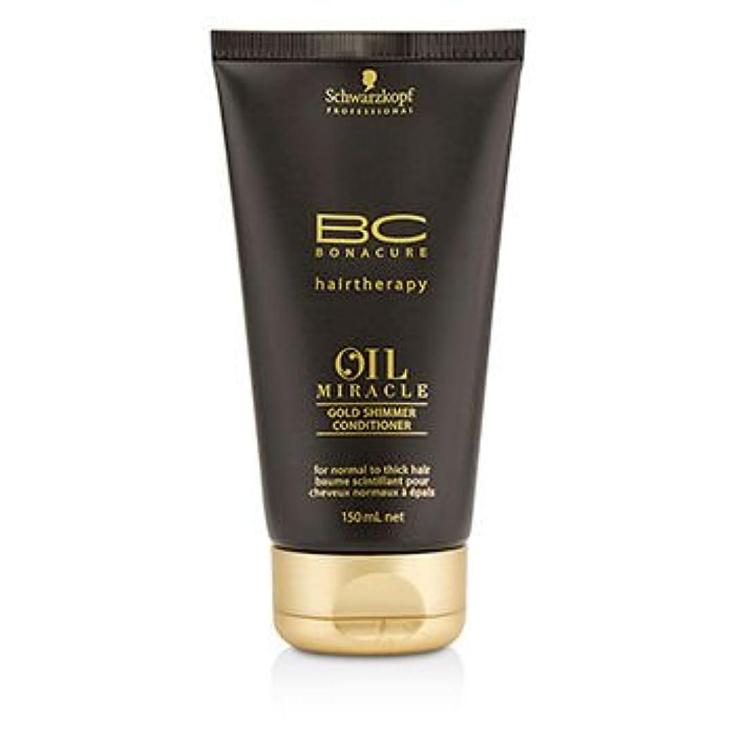 回復求める縮れた[Schwarzkopf] BC Oil Miracle Gold Shimmer Conditioner (For Normal to Thick Hair) 150ml/5oz