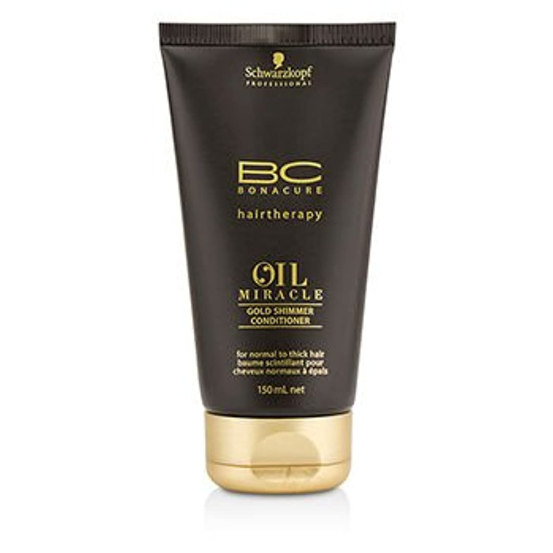 ばかげている納税者楽しませる[Schwarzkopf] BC Oil Miracle Gold Shimmer Conditioner (For Normal to Thick Hair) 150ml/5oz