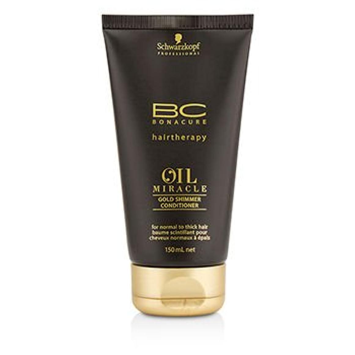 薄いです偏見省[Schwarzkopf] BC Oil Miracle Gold Shimmer Conditioner (For Normal to Thick Hair) 150ml/5oz
