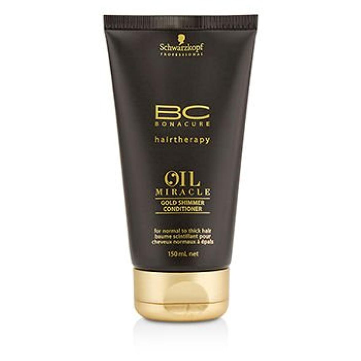 マトン非行事前に[Schwarzkopf] BC Oil Miracle Gold Shimmer Conditioner (For Normal to Thick Hair) 150ml/5oz
