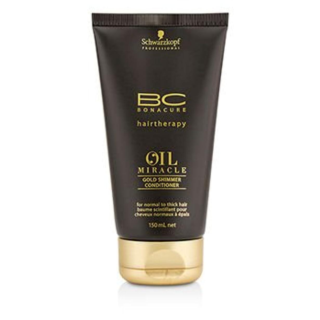 不条理浸す冷ややかな[Schwarzkopf] BC Oil Miracle Gold Shimmer Conditioner (For Normal to Thick Hair) 150ml/5oz