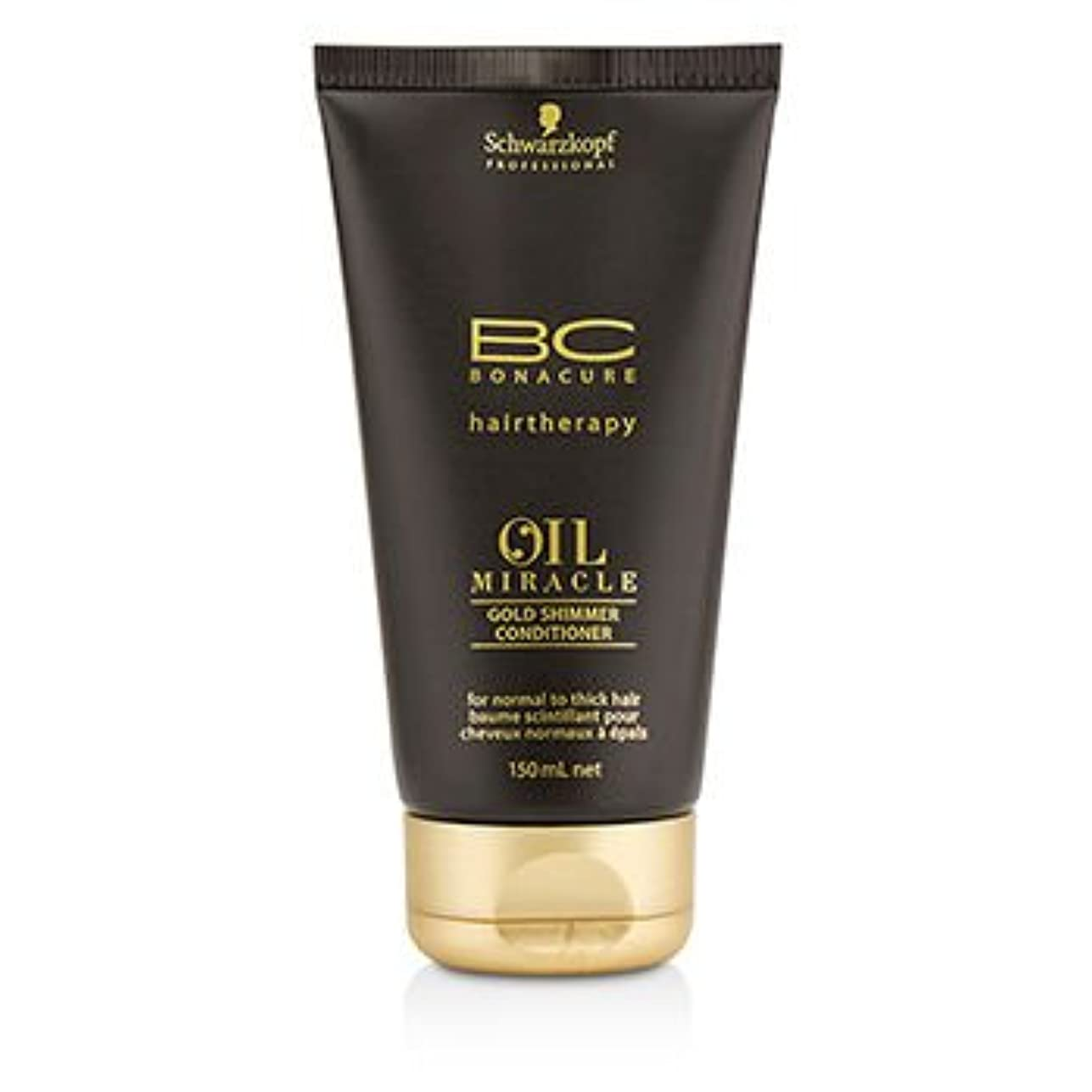 オーチャードモトリー変化する[Schwarzkopf] BC Oil Miracle Gold Shimmer Conditioner (For Normal to Thick Hair) 150ml/5oz