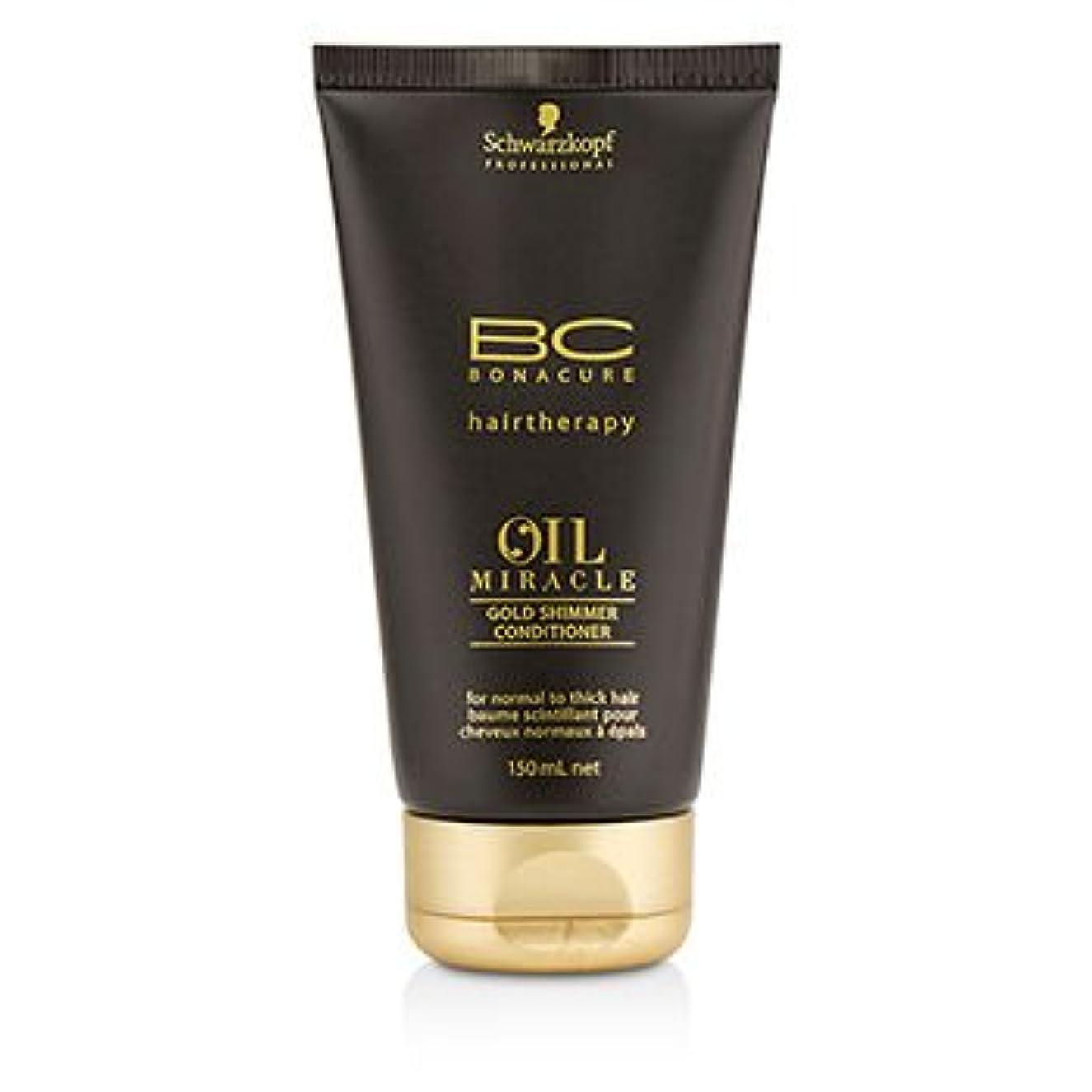 セマフォヒロイックメールを書く[Schwarzkopf] BC Oil Miracle Gold Shimmer Conditioner (For Normal to Thick Hair) 150ml/5oz