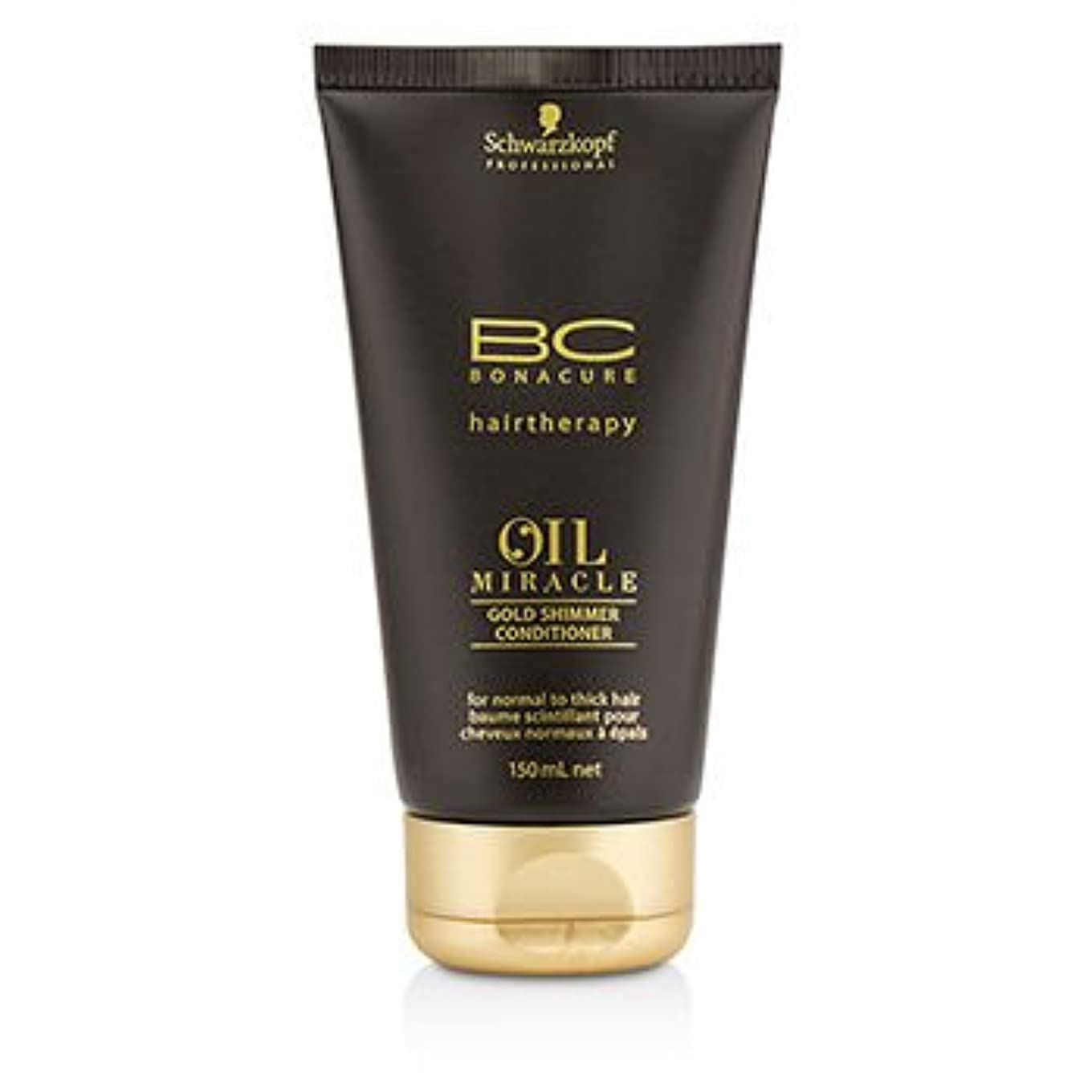 考古学的な夜の動物園吐き出す[Schwarzkopf] BC Oil Miracle Gold Shimmer Conditioner (For Normal to Thick Hair) 150ml/5oz