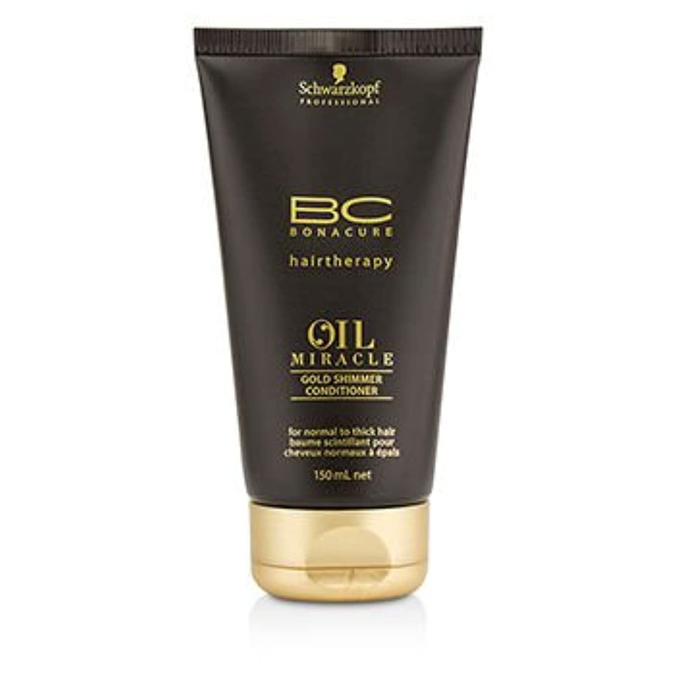 温度計ホップ健康[Schwarzkopf] BC Oil Miracle Gold Shimmer Conditioner (For Normal to Thick Hair) 150ml/5oz