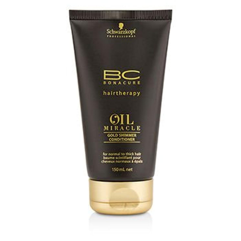 アルネ陸軍解釈する[Schwarzkopf] BC Oil Miracle Gold Shimmer Conditioner (For Normal to Thick Hair) 150ml/5oz