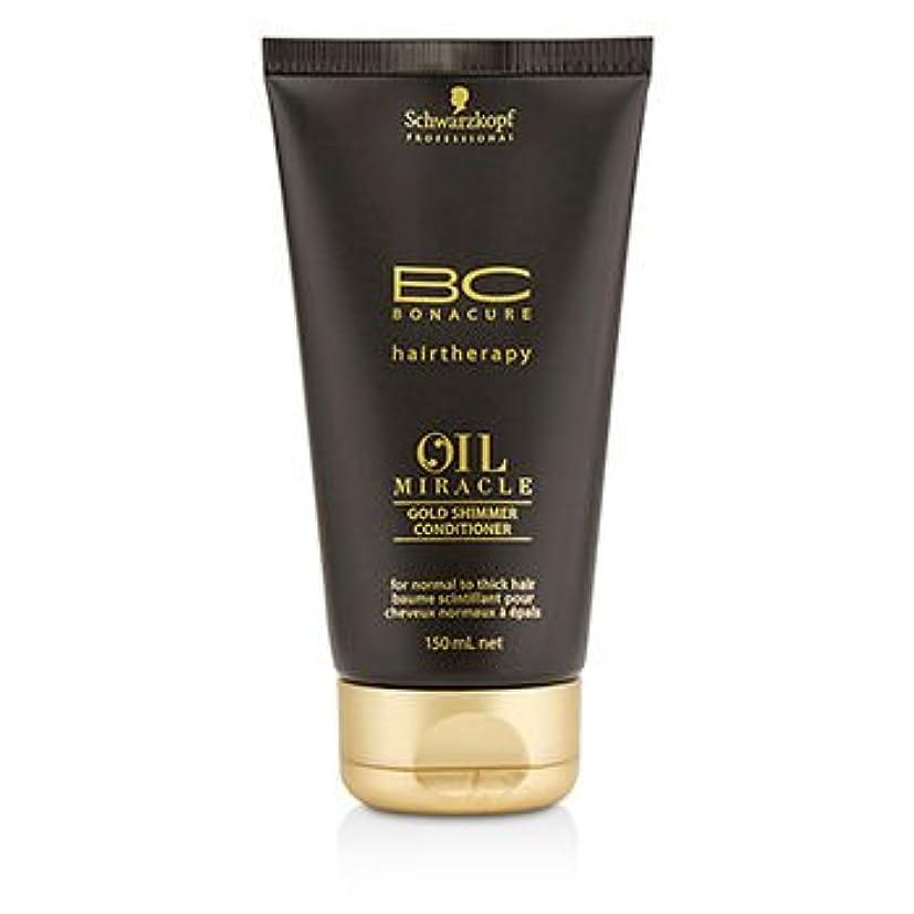 見習い権威定規[Schwarzkopf] BC Oil Miracle Gold Shimmer Conditioner (For Normal to Thick Hair) 150ml/5oz