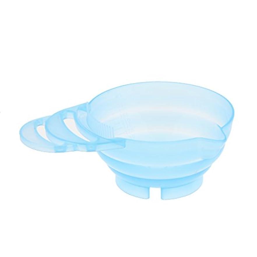 海峡変位絶望ヘアカラーボウル 混合ボウル ヘアダイカップ ヘアカラーカップ プラスチック ランダム色