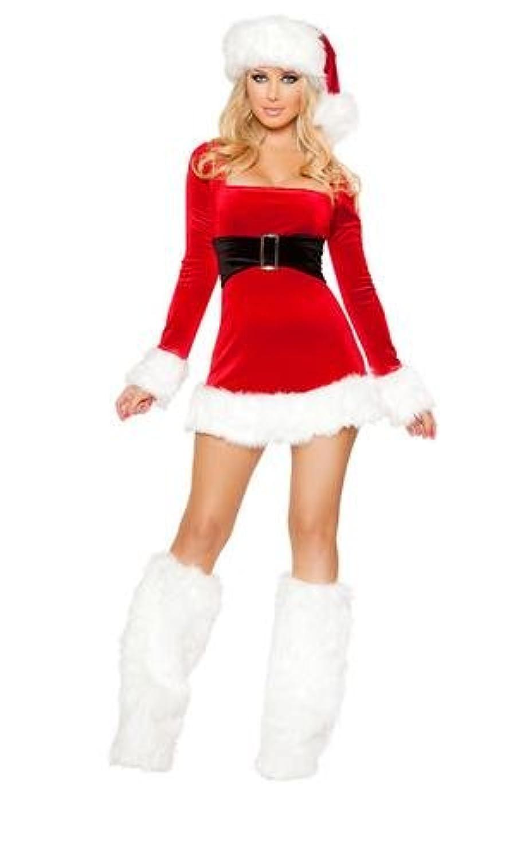 ROMA 1PC Santas Saint costume クリスマスコスチューム [サイズ:S]