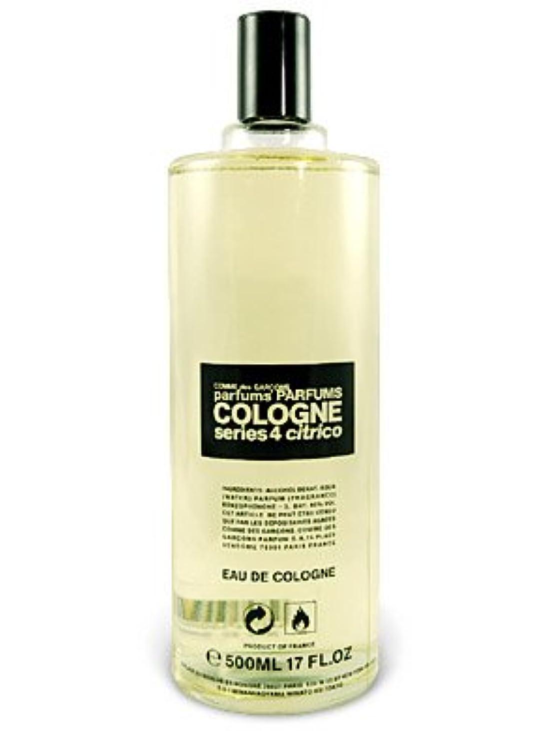 五月薬を飲むアクセスできないComme des Garcons Series 4 Cologne Citrico  (コムデギャルソン シリーズ4 コロン シトリコ) 16.6 oz (500ml) Splash for Men
