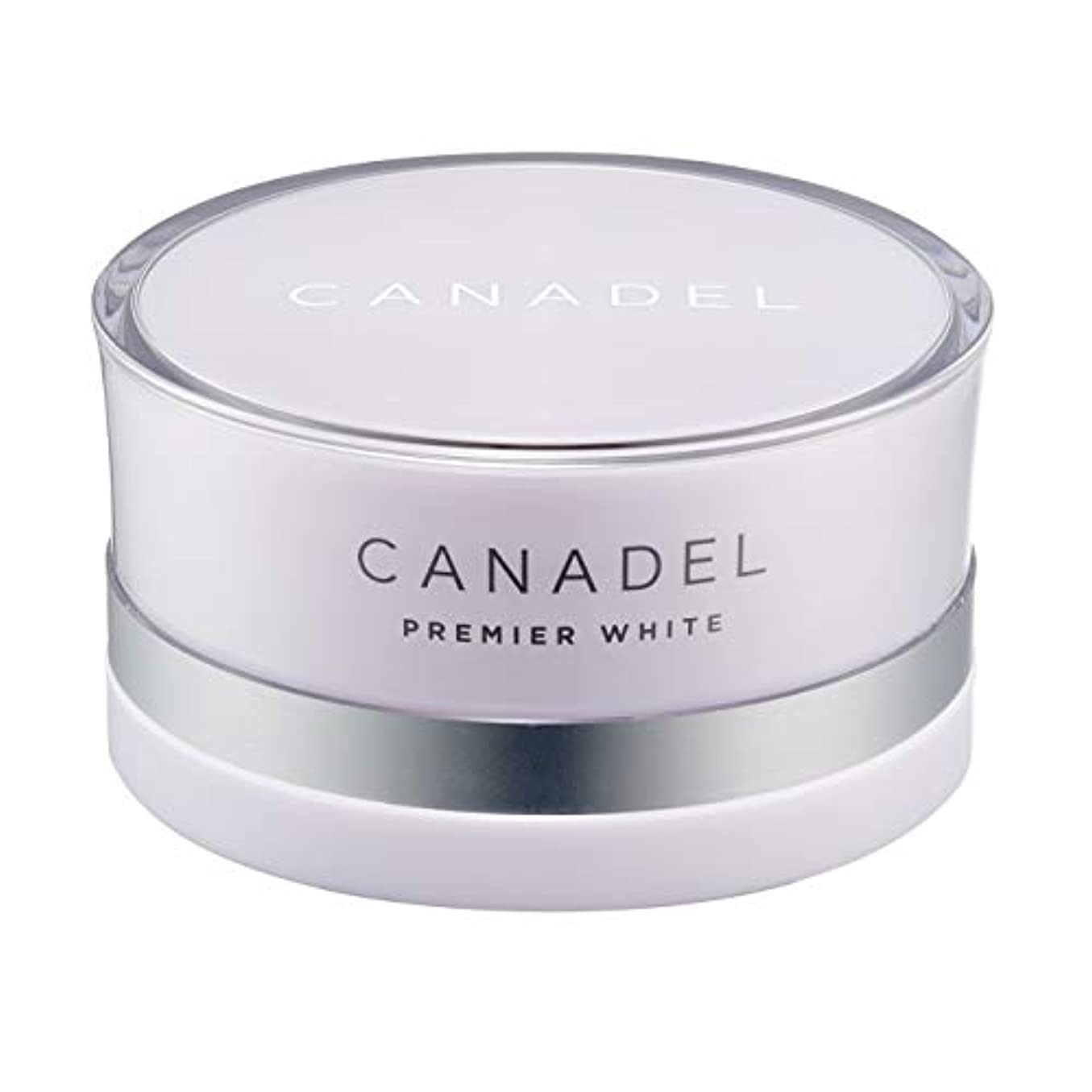 副産物ペルソナワットCANADEL カナデル プレミアホワイト オールインワン 美容液クリーム 【 薬用美白有効成分配合 】 シミが気になる方向け 58g