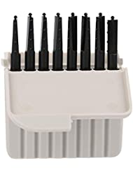 Semmeワックスガード、8個使い捨てEarwaxフィルター補聴器アクセサリーワックスプロテクタークリーニングセット