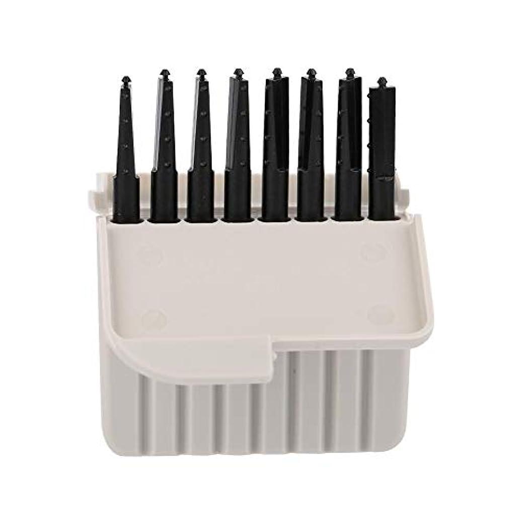 バッチチチカカ湖スプーンSemmeワックスガード、8個使い捨てEarwaxフィルター補聴器アクセサリーワックスプロテクタークリーニングセット