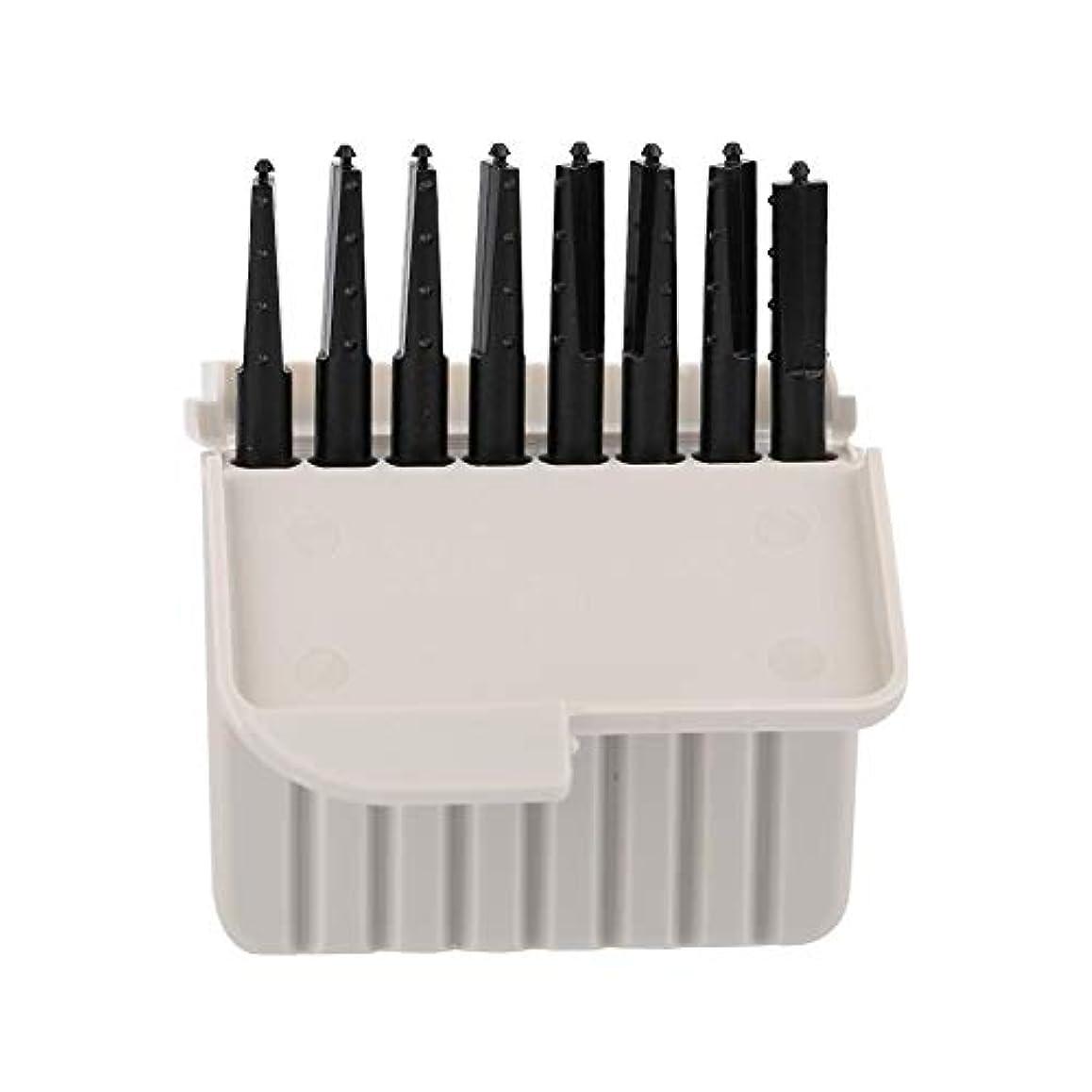 解読する廃止する浅いSemmeワックスガード、8個使い捨てEarwaxフィルター補聴器アクセサリーワックスプロテクタークリーニングセット