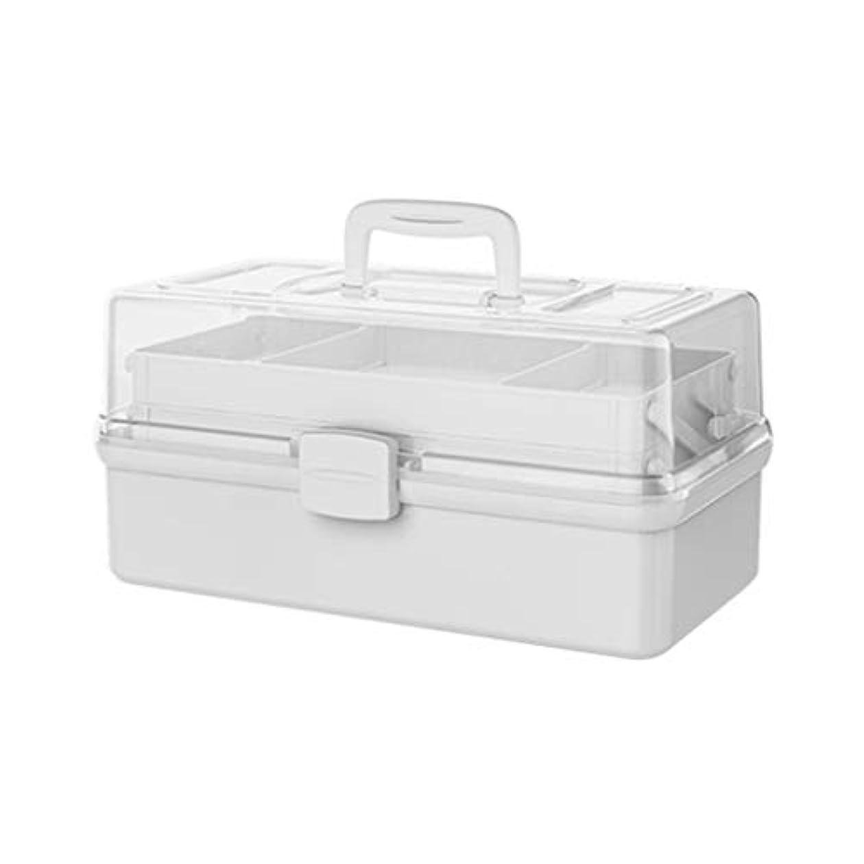 ご近所食事を調理する服を洗う応急処置ボックス - 医療ボックス - キャリングハンドル - ポータブル、家庭用薬収納コンテナーボックス、旅行職場