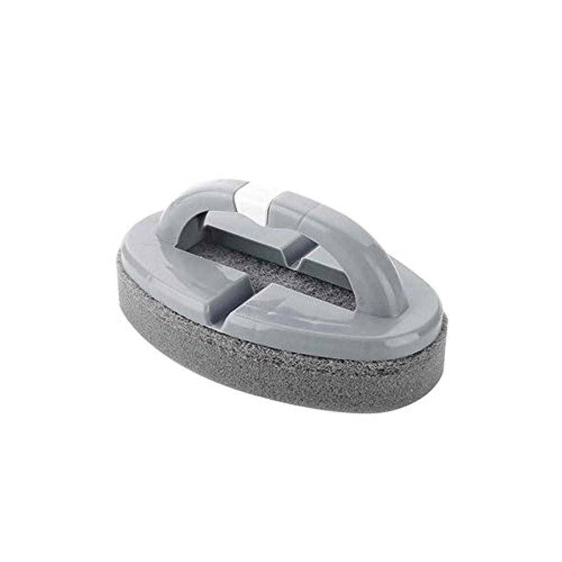 男らしさ水素絡まるポアクリーニング 折りたたみスポンジハンドル付きハンドルバスルームタイルクリーニングブラシ2 PCS マッサージブラシ (色 : C)
