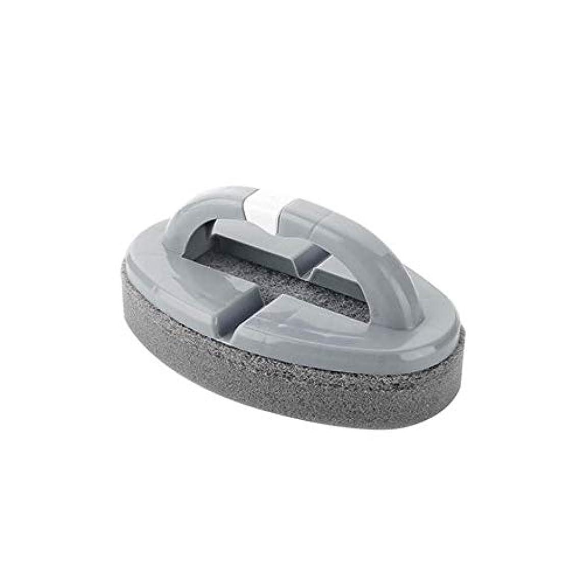 アソシエイトピック静かにポアクリーニング 折りたたみスポンジハンドル付きハンドルバスルームタイルクリーニングブラシ2 PCS マッサージブラシ (色 : C)