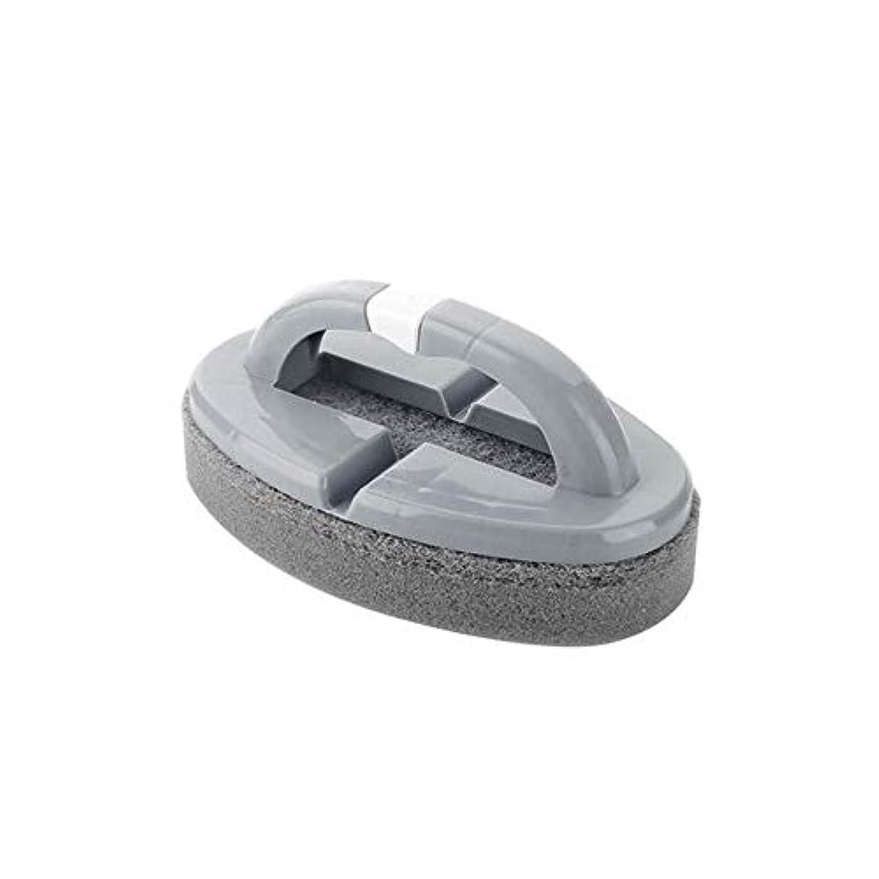 ポアクリーニング 折りたたみスポンジハンドル付きハンドルバスルームタイルクリーニングブラシ2 PCS マッサージブラシ (色 : C)