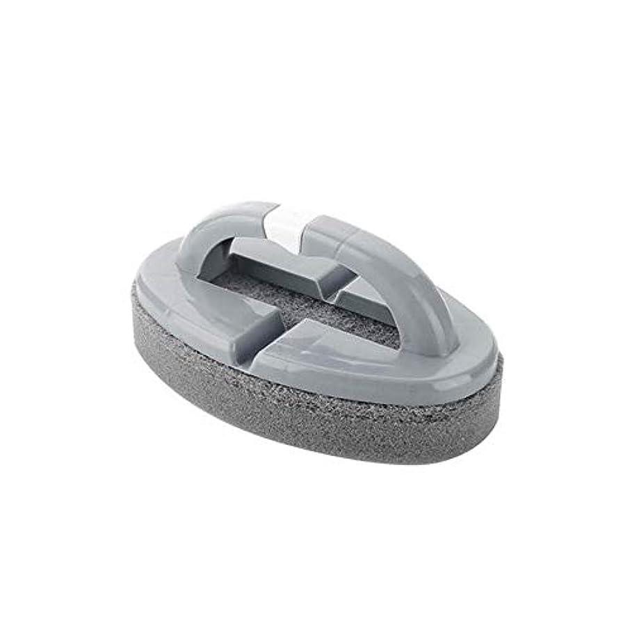 十一ナプキン醜いポアクリーニング 折りたたみスポンジハンドル付きハンドルバスルームタイルクリーニングブラシ2 PCS マッサージブラシ (色 : C)