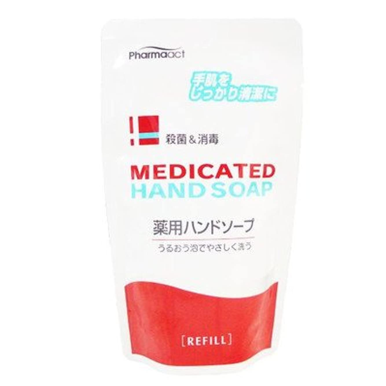 宿限定面積Medicated 薬用ハンドソープ 殺菌+消毒 200ml【つめかえ用】(医薬部外品)
