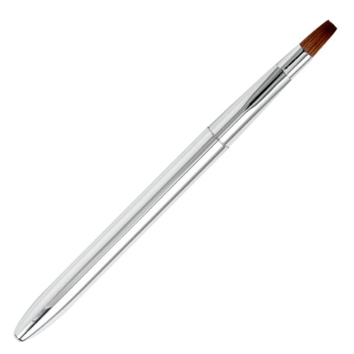 その後夏弾薬広島熊野筆 オートリップブラシ 毛質 イタチ L-1