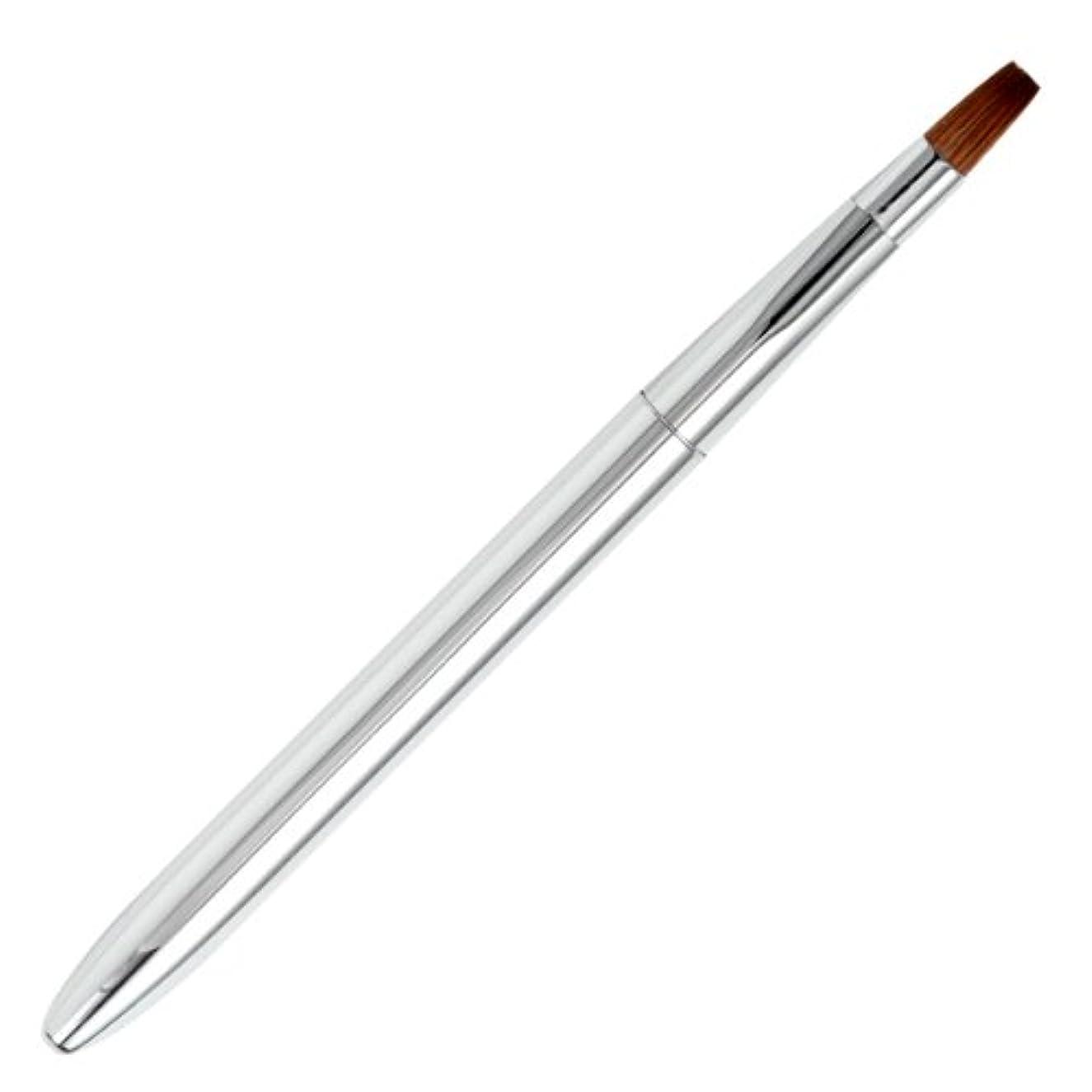 オーブン酸っぱいふつう広島熊野筆 オートリップブラシ 毛質 コリンスキー